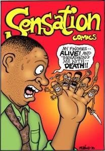 sensation comics  Gil Kane's cover