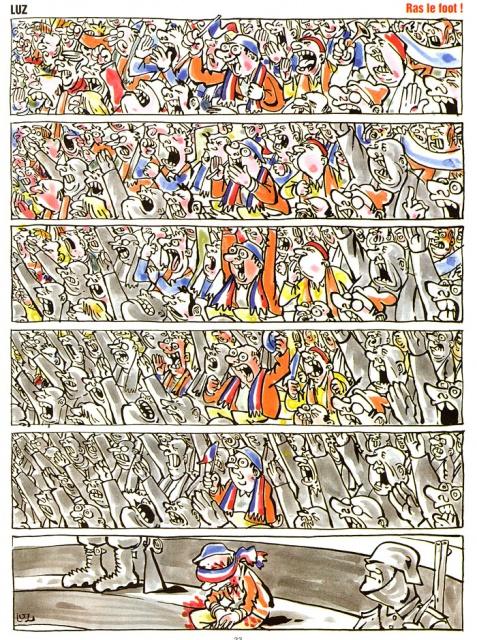 Vive le foot ! - Collectif (Albin Michel, 1998) dans Chroniques BD planchevivefoot12732664791d409