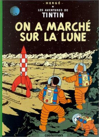 On a marché sur la Lune - Hergé (Casterman, 1954) dans Chroniques BD