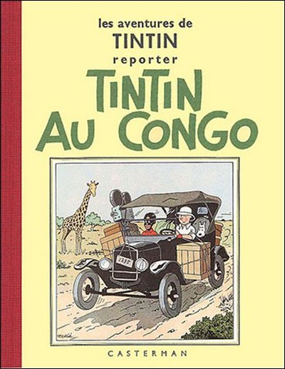 Tintin au Congo - Hergé (Casterman, 1937) dans Chroniques BD tintincon