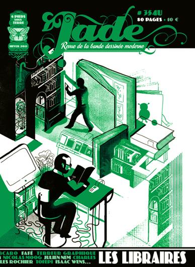 Jade 354u, revue de la bande dessinée moderne (6 pieds sous terre, Hiver 2013) dans Presse et Revues jade354u