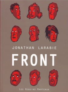 Front - Jonathan Larabie (les Requins Marteaux, 2012) dans Chroniques BD frontjonathanlarabie-223x300